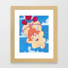 ginger angel Framed Art Print