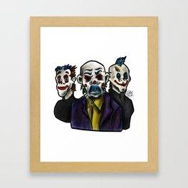 Joker Gang  Framed Art Print