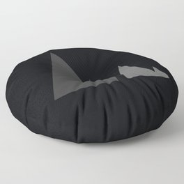 The Mountains Floor Pillow