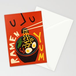 Yum Ramen Stationery Cards