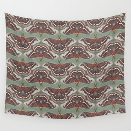 Cecropia Moth Wall Tapestry
