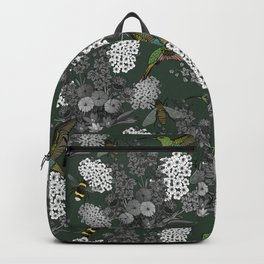 Hummingbirds and Bees (don't let them fade away) Backpack