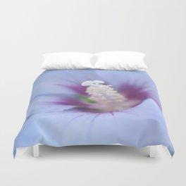Soft Purple Hibiscus Flower #1 #art #society6 Duvet Cover