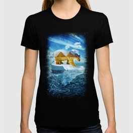 A Polar Bear Dreams of the Desert T-shirt