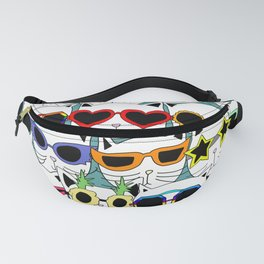 Cat Pineapple Sunglasses Fanny Pack