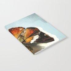 Butterfly on flower 12 Notebook