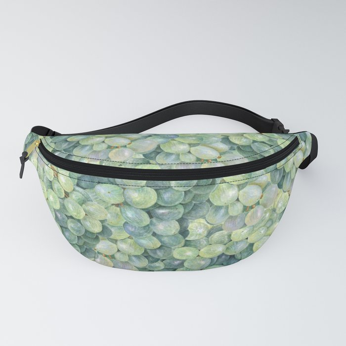 Green Grape Pattern Fanny Pack