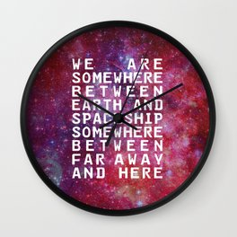 IN BETWEEN Wall Clock