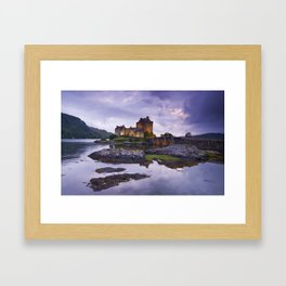 The Guardian of the Lake Framed Art Print