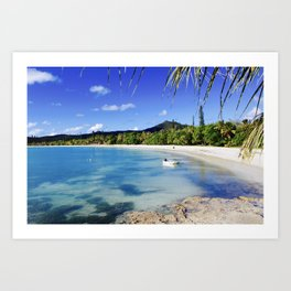 Isle of Pines Art Print
