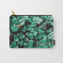 Leafy Greens Close Up Carry-All Pouch