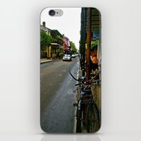 new orleans iPhone & iPod Skins featuring New Orleans by Anina Middleton