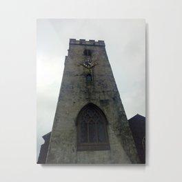 Carmarthen Church Tower Metal Print