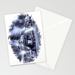 Ghost Train. © J&S Montague. Stationery Cards