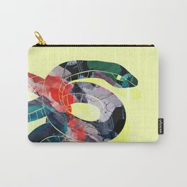 Painted Snake Carry-All Pouch