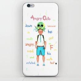 Angryocto - Joun's Math grade iPhone Skin