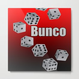 Bunco Metal Print