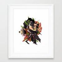 berserk Framed Art Prints featuring Guts by Kerederek