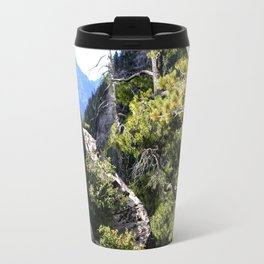 Clinging to the Brink over Vallecito Creek Travel Mug
