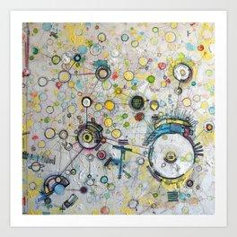 Energetic - Circulation Art Print