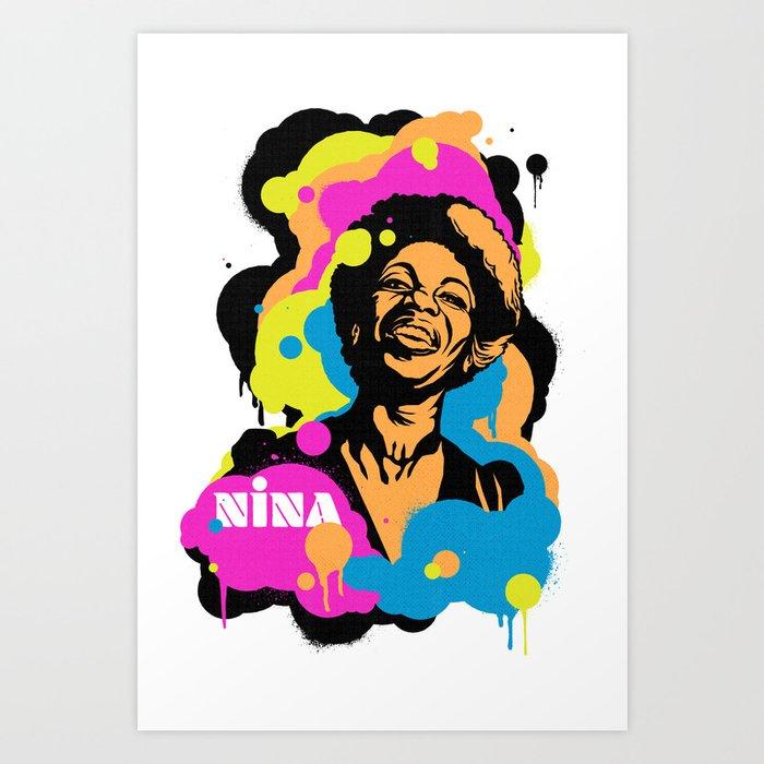 Soul Activism :: Nina Simone Art Print