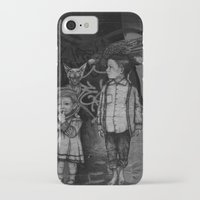 guardians iPhone & iPod Cases featuring Guardians by Taylor.Mac