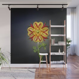Chili Flower Wall Mural