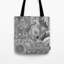 Doodle 3 Tote Bag