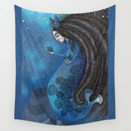 The Seal Woman Wall Tapestry
