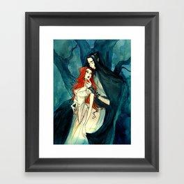Hades and Persephone II Framed Art Print