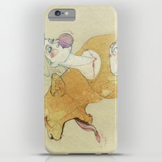 The lady and the lion. iPhone 6 Plus Slim Case