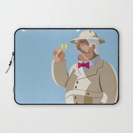 Agatha Christie's Hercule Poirot Laptop Sleeve