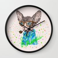 hawaii Wall Clocks featuring Hawaii by dogooder