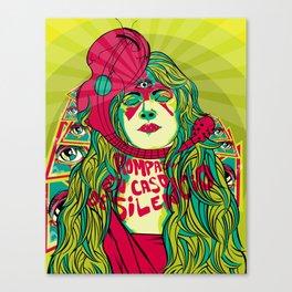 Rompase en caso de silencio (break in case of silence) Canvas Print