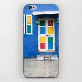 Colorful Indian Door iPhone Skin