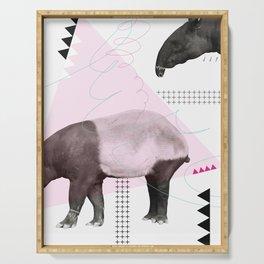 tapirism one Serving Tray