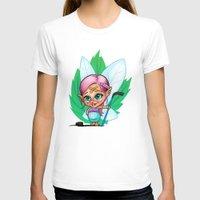 elf T-shirts featuring Hockey Elf by Havard Glenne