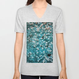 Paradise Found (on a cathedral door) Unisex V-Neck
