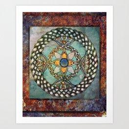 Mindful Passage Celtic Knot Art Print