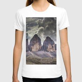 Tre Cime di Lavaredo Dolomites mountains Italy T-shirt