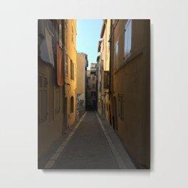 Rue Porte Baussenque Metal Print