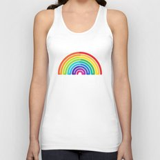 Rainbow - to wear Unisex Tank Top