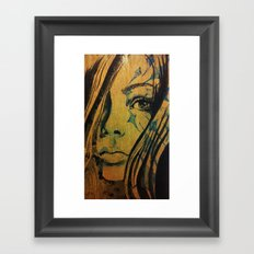 Azurite Framed Art Print