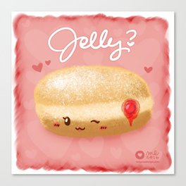 Jelly? Canvas Print