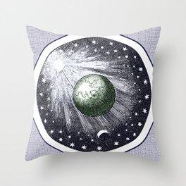 Cosmic stardust Throw Pillow