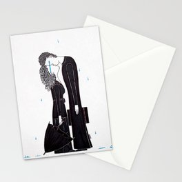 And So It Must Rain Stationery Cards