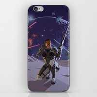 n7 iPhone & iPod Skins featuring Mass Effect 3- Infiltrator Propaganda by Joe Byrne