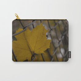 Autumn leaf in the wire Carry-All Pouch