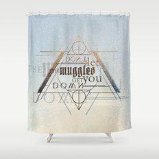 Muggle Shower Curtain