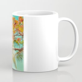 Summery Trees in Hawaii Coffee Mug